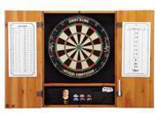 GLD Viper 40-0400 Metropolitan Oak Soft Tip Dartboard Cabinet
