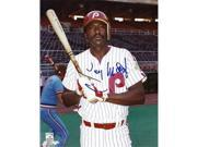 Garry Matthews Autographed Philadelphia Phillies 8X10 Photo 9SIV06W2HY3886
