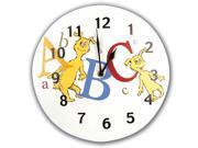 Trend Lab 30066 Circular Wall Clock- Dr. Seuss Abc