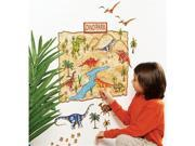 Wallies Wallcoverings 13530 Peel & Stick Wall Play Dino Park 9SIV06W2HS9943