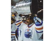 Grant Fuhr Autographed Edmonton Oilers 8X10 Photo With Stanley Cup - 5X Stanley Cup Champion 9SIV06W2J70764