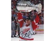 Brett Hull Autographed Detroit Red Wings 8X10 Stanley Cup Photo - Hall Of Famer 9SIV06W2J70828