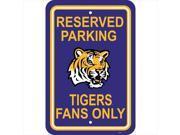 JTD Enterprises AP-PSNC-LSU Florida State Seminoles Parking Sign 9SIV06W2JJ1512