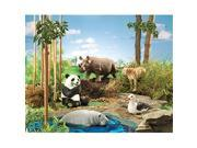 Learning Resources LER0794 Jumbo Endangered Animals 9SIV06W2JA7041