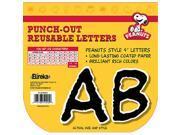 Eureka EU-845065 Peanuts Deco Letters Black