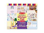 Melissa and Doug LCI4197 Reusable Sticker Pad Play House 9SIV06W2JA6147