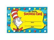 EUREKA EU-844201 DR SEUSS CAT IN THE HAT REWARD PUNCH CARDS