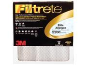 3m EA02DC-6 20 in. X 20 in. X 1 in. Filtrete Elite Allergen Reduction Filter Pack Of 6 9SIV06W2JV8126