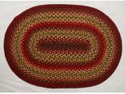 Homespice Decor 596123 Cider Barn Hudson Jute Braided Rugs - Oval 9SIV06W2K53842