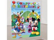 Amscan Disney Mickey Mouse Scene Setter Decoration Set