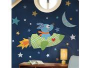 RoomMates RMK2001GM Rocketdog Peel & Stick Giant Wall Decals 9SIV06W6A85609