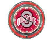 The Ohio State University Neon Clock - 14 inch Diameter 9SIV06W2KD4716