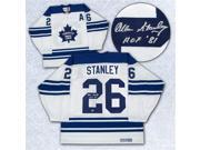 AJ SportsWorld STAA104000 Allan Stanley Toronto Maple Leafs Autographed 1967 Stanley Cup Retro Ccm Jersey 9SIV06W65J6707