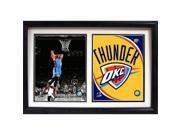 Encore Select 122-63 12 x 18 Double Frame - Russell Westbrook Oklahoma City Thunder 9SIV06W67D7285