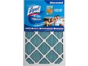 Lysol Air Filter Triple Protection 16 x 25 x 1 in. -  Pack of 2 9SIV06W67G9375