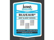 Home Revolution 103470 Blueair 500 And 600 Series Air Purifier Filter 9SIV06W67S8766