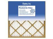 Flanders 81555.011624 16 x 24 x 1 in. Basic Pleated Air Filter - Pack Of 12 9SIV06W6779753