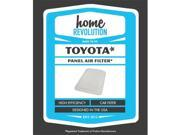 Home Revolution 833891 Panel Air Cabin Filter Made To Fit Toyota Camry & Toyota Venza 9SIV04Z74N2187