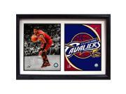 Encore Select 122-55 12 x 18 Double Frame - Kyrie Irving Cleveland Cavaliers 9SIV06W67J3647