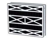 Air-Kontrol DPFR20X25X5OB-DAK Carbon Odor Filter,  Pack Of 2 9SIV06W67H9969