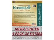 Accumulair FB16X19 15.5 x 18.5 x 1 in. MERV 8 Gold Filter 9SIV06W67F8540