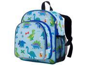 Wildkin 40408 Olive Kids Dinosaur Land Pack N Snack Backpack for Boys, Blue 9SIV06W67H9005