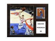 CandICollectables 1215PORZINGIS NBA 12 x 15 in. Kristaps Porzingis New York Knicks Player Plaque 9SIV06W67H5798
