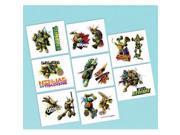 Amscan 392555 Teenage Mutant Ninja Turtles Tattoos Sheet - Pack of 192 9SIV06W67P3577