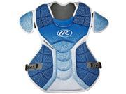 Rawlings RWCPVELMAW Velo Adult Chest Protector, Maroon & White 9SIV06W6808699