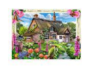 Masterpieces 71402 Foxglove Cottage Puzzle - 1000 Piece 9SIV06W68A0064