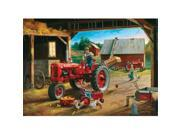 Masterpieces 71450 Charles Freitag Farmall Friends Puzzle, 1000 Pieces 9SIV06W6887725
