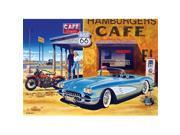 Masterpieces 71517 Route 66 Caf- Puzzle - 1000 Piece 9SIV06W68A0189