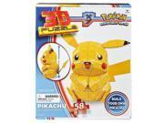 Pokemon 30357480 Pokemon Pikachu 3D Foam Backed Puzzle