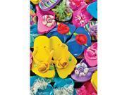 Masterpieces 31526 Carol Gordon Flippity Flops Puzzle, 1000 Pieces 9SIV06W6899837