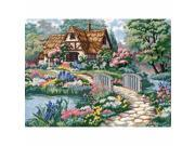 Dimensions 2461 Cottage Retreat Needlepoint Kit-16''X12'' Stitched In Thread 9SIV06W6836008