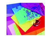 Spectra 006207 Deluxe Bleeding Recyclable Art Tissue Paper, Azure Blue - 24 Sheets
