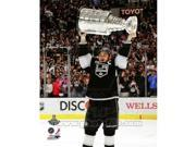 Photofile PFSAAOY14901 Dustin Brown with the Stanley Cup Trophy after Winning Game 6 of the 2012 Stanley Cup Finals Sports Photo - 8 x 10 9SIV06W6939386