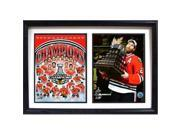 Encore Select 123-81 12 x 18 in. 2015 Stanley Cup Champions Chicago Blackhawks Double Frame Photo 9SIV06W69E3482
