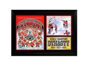 Encore Select 128-80 12 x 18 in. 2015 Stanley Cup Champions Chicago Blackhawks Photo Stat Frame 9SIV06W69E3376