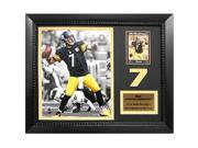 Encore Select 161-73 11 x 14 in. Ben Roethlisberger Pittsburgh Steelers Card Frame Photo 9SIV06W69E3274