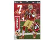 San Francisco 49ers Colin Kaepernick Decal 11x17 Multi Use 9SIV06W69U2157