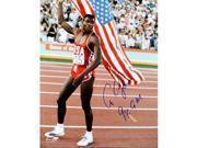 Athlon CTBL-011170 Carl Lewis Signed Team USA Flag Photo 9X GM - Tri-Star Hologram - 16 x 20 9SIV06W69V1998