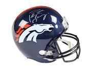 Athlon CTBL-018157 Peyton Manning Signed Denver Broncos Full Size Replica Helmet - Steiner & Fanatics Holograms 9SIV06W69U9326