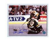 AJ Sports World CASJ107030 16 x 20 in. Jon Casey Minnesota North Stars Autographed Cup Finals Vs Mario Photo 9SIV06W69U6764
