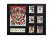 CandICollectables 1620SC15 NHL 16 x 20 in. Chicago Blackhawks 2014-2015 Stanley Cup Champions Plaque 9SIV06W69U3230