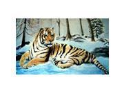 Custom Printed Rugs DM  41 Tiger Door Mat