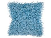 Surya Rug FA058-2222P Square Sky Blue Decorative Poly Fiber Pillow 22 x 22 in. 9SIV06W6992115