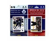 CandICollectables MAPLELEAFS13 NHL Toronto Maple Leafs Licensed 2013-14 Score Team Set & All-Star Set 9SIV06W69U2945