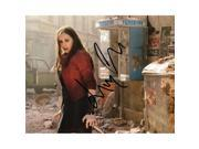 Real Deal Memorabilia EOlsen8x10-2 Elizabeth Olsen Signed - Autographed Scarlet Witch Avengers, Age of Ultron - Captain America, Civil War Actress 8 x 10 in. Ph 9SIV06W69V2144