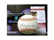 Billy Herman autographed Baseball (JSA) 9SIV06W69V5045